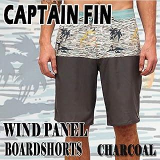 CAPTAIN FIN/キャプテンフィン WIND PANEL BOARDSHORTS CHARCOAL 男性用水着_海パン/海水パンツ サーフパンツ ボードショーツ