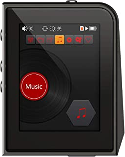 A50 Digital MP3 Music Player Professional DSD256 HiFi Lossless Audio Player Support TF Card Read & Play USB OTG with 2.0 I...