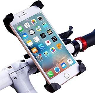 GAGAMO Bike Phone Mount, Motorcycle Cellphone Assesories Phone Holder Handlebar Case Bicycle Phone Holder for XIAOMI M365 Ninebot Cycling GPS, Fit for iPhone XS/XR/8/8 Plus, Samsung Galaxy Phones