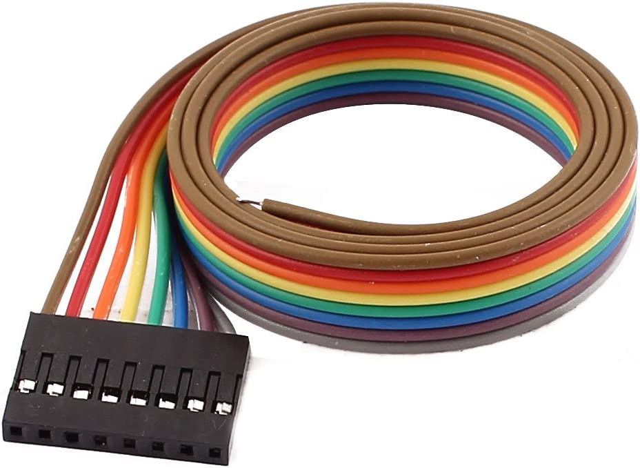 Our shop OFFers the best service Aexit Female Gorgeous 8P Audio Video Ribbon Ca Jumper Wires Accessories