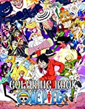 One Piece Coloring Books: Anime Coloring Books for Luffy and Friends Fans