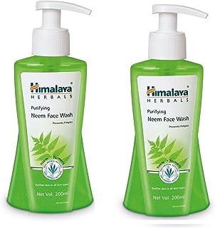 Himalaya Purifying Neem Face Wash, 200ml (Pack Of 2)