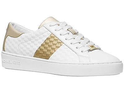 MICHAEL Michael Kors Colby Sneaker (Optic/Pale Gold) Women