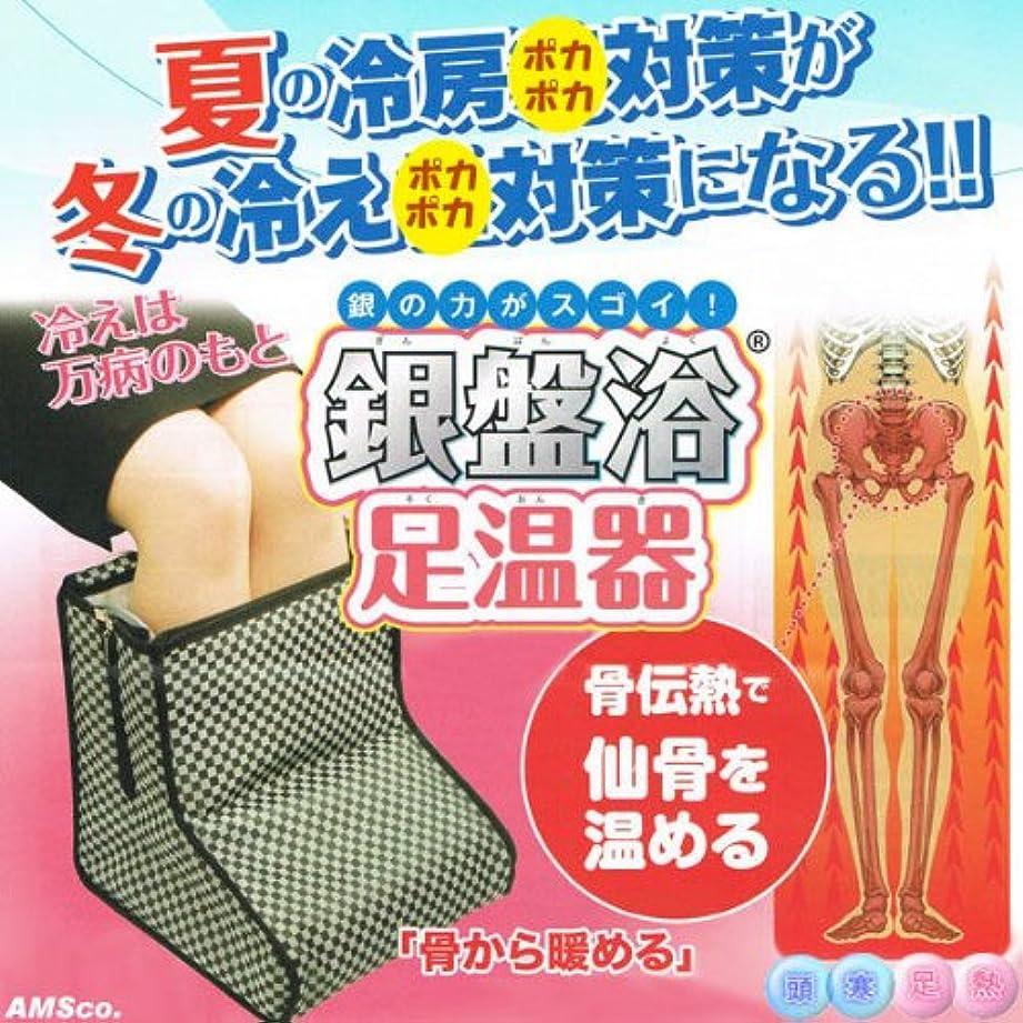 花瓶に有効な銀盤浴足温器