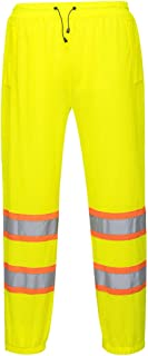 Portwest Mesh Over Pants Hi Vis Visibility Reflective Work Trousers Outdoor ANSI E