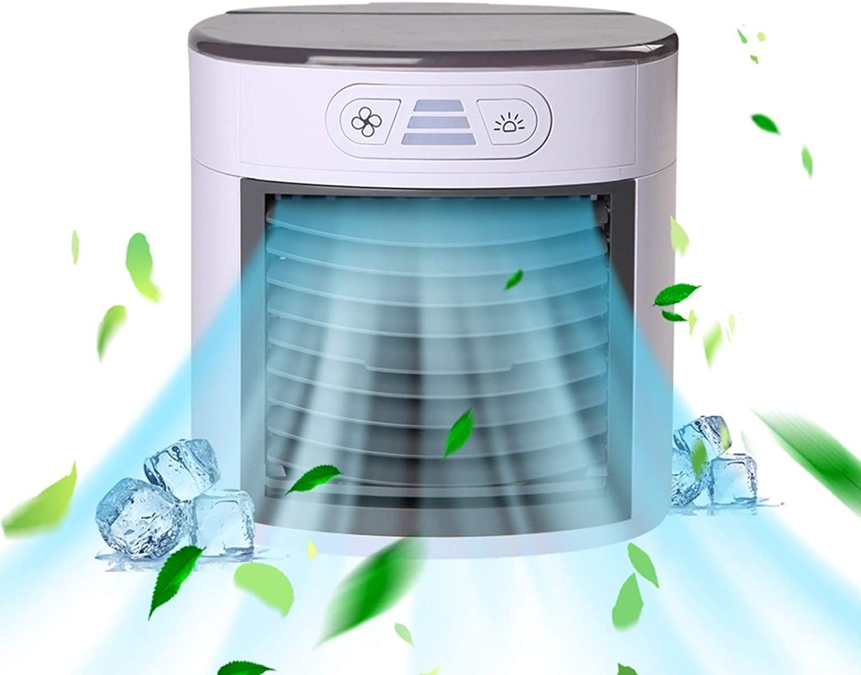 SUJIN Sale Portable Cooler Chicago Mall Mini USB Household Fan Pe Air Conditioner