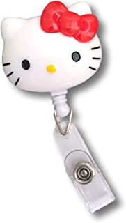 Best hello kitty retractable id badge holder Reviews
