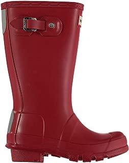 Official Brand Hunter Original Little Kids Wellington Boots Infants Boys Red Wellies Gum Boot