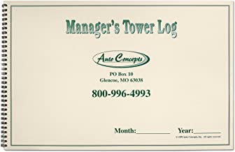 Manager's Tower Log - A journal designed especially for dealership managers to track all incoming customers to dealership daily.
