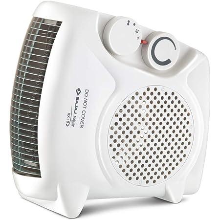 Bajaj Majesty RX10 2000 Watt Heat Convector Room Heater (White, ISI Approved)