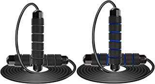 PENCK Jump Rope for Fitness - Exercise Jump Ropes Workout for Indoor Outdoor Adjustable Tangle-Free with Ball Bearings Rap...