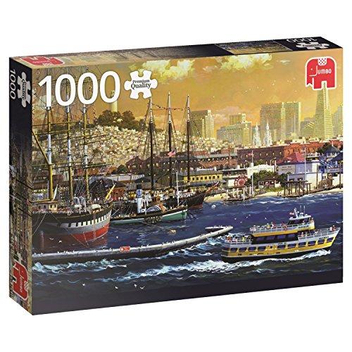 Jumbo - 18552 -  Il Porto di San Francisco, Stati Uniti - 1000 Pezzi