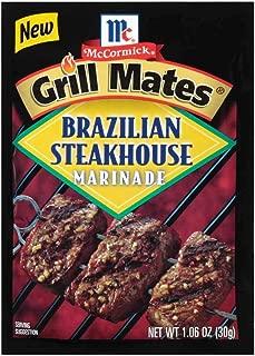 Mccormick Grill Mates Brazilian Steakhouse Marinade, 1.06 Ounce -- 12 per case.