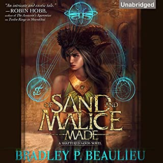 Of Sand and Malice Made audiobook cover art