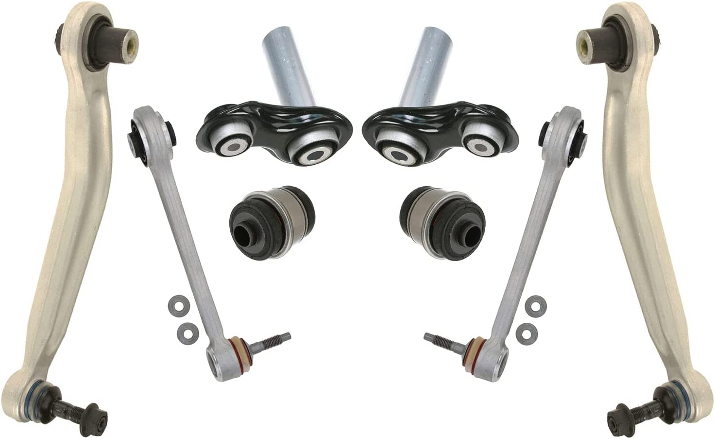 Rear Max 50% OFF 8-Piece Suspension Control Arm E60 with Ranking TOP16 kit Compatible BMW