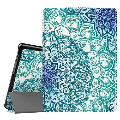 Fintie Hülle Hülle für Huawei Mediapad T3 10 - Ultra Dünn Superleicht Flip Schutzhülle mit Zwei Einstellbarem Standfunktion für Huawei MediaPad T3 (9,6 Zoll) 24,3 cm Tablet-PC, smaragdblau
