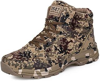 Shoe House Hombres Ligeros Botas De Senderismo Al Aire Libre Mochila De Camuflaje Zapatos 39-46