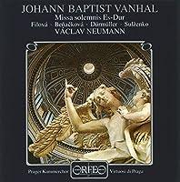 Missa Solemnis Es-Dur by JOHANN BAPTIST VANHAL (1996-01-17)