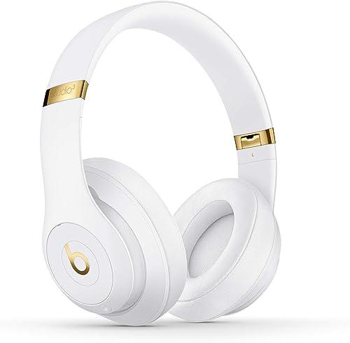 Beats Studio3 Casque circumauriculaire sans Fil avec réduction du Bruit - Puce Apple W1 pour Casques et écouteurs, Bl...