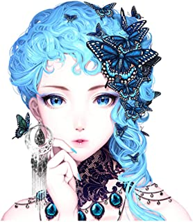 NEARTIME DIY 5D Diamond Painting Kits Full Drill Embroidery Paintings Rhinestone Pasted DIY Painting Cross Stitch Arts Crafts for Home Wall Decor 30x40cm/11.8×15.7Inches