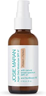 Sponsored Ad - Josie Maran Argan Daily Moisturizer SPF 47 Protect and Perfect - Lightweight, Non-Greasy, and Chemical-Free...