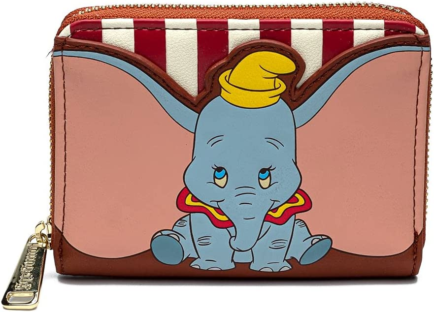 LOUNGEFLY X DISNEY Dumbo Stripe Star of The Show Wallet