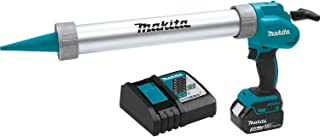 Makita XGC01T1B 18V LXT Lithium-Ion Cordless 20 oz. Barrel Style Caulk & Adhesive Gun Kit (5.0Ah),