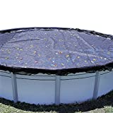 In The Swim 24 Foot Round Leaf Net Cover for Above Ground Pools