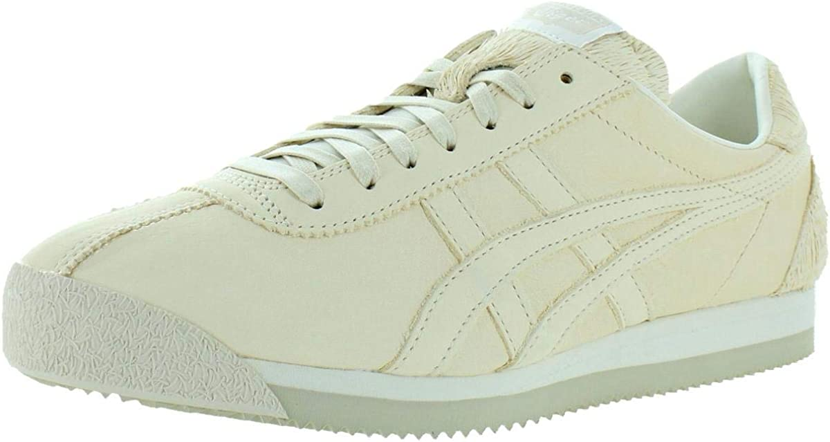 Onitsuka Tiger Womens Corsair Leather Fashion Sneakers Beige