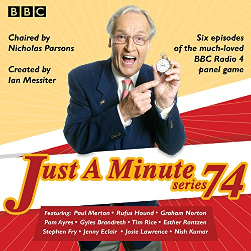 Just a Minute: Series 74 cover art