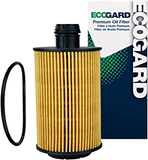 EcoGard X10232 Premium Cartridge Engine Filter for Conventional Oil Fits Jeep Grand Cherokee 2014-2019, Ram 2014-2018, 1500 Classic Diesel 2019-2019