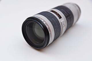 Canon EF 70-200mm f/4L USM - Objetivo para Canon (Distancia Focal 70-200mm Apertura f/4-32 Zoom óptico 2.8Xdiámetro: 67mm) Blanco