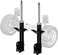Yumy 2 pcs Front Right+Left Suspension Gas Strut Shock Absorber for 02-05 Mitsubishi Lancer ES(Not Include Spring)
