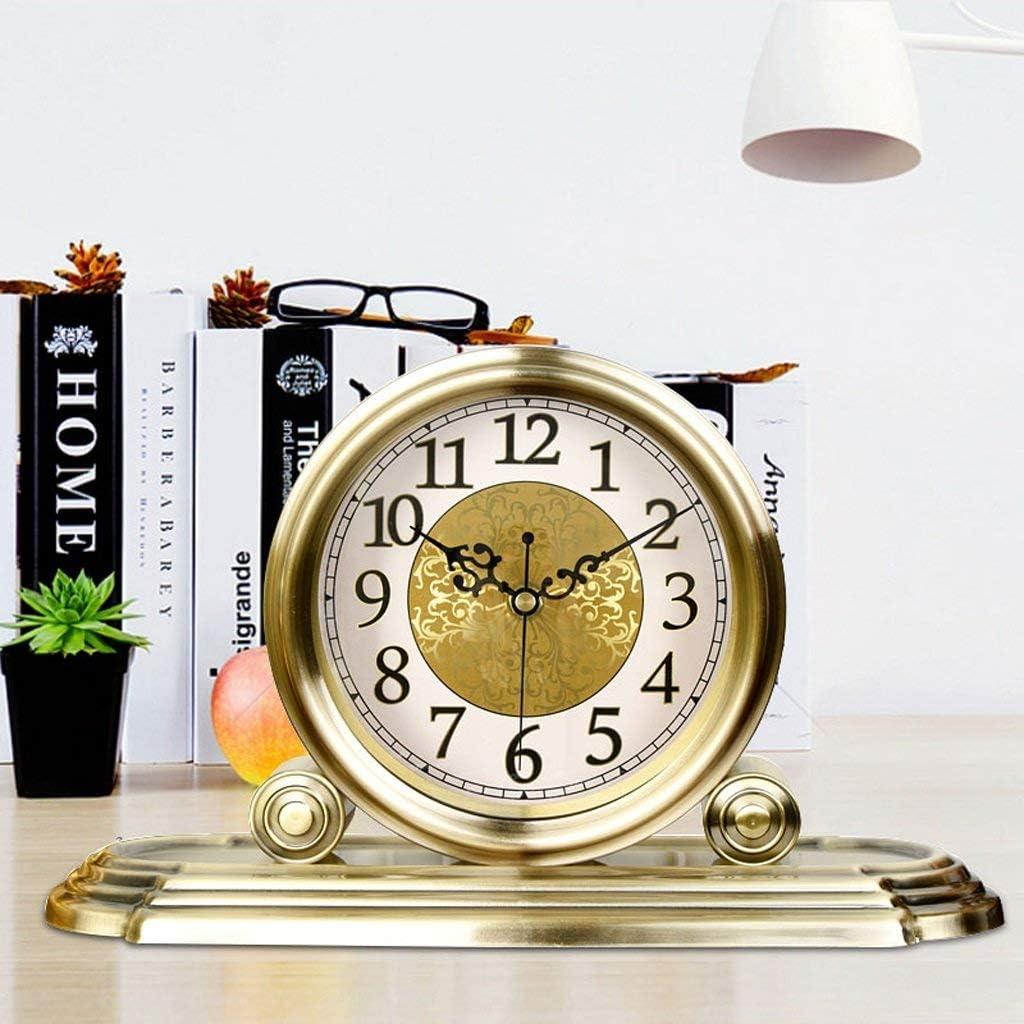 MKKM Home Living Genuine Room Outstanding Wall Table C Clock-European Clock Bedside