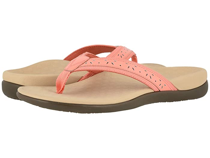 VIONIC  Casandra (Coral Leather) Womens Shoes