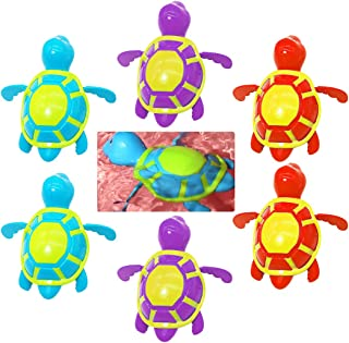 Coxeer 6PCS Interactive Shower Toy Creative Bath Squeeze Toy Bath Tub Toy for Toddler