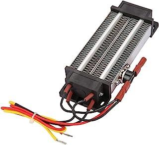Zouminyy Elemento calefactor PTC Calentador de aire de cerámica Termostático 500W 110V Calentador de aire Calentador eléctrico