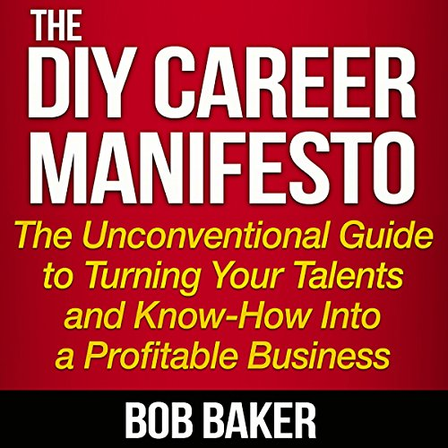 The DIY Career Manifesto audiobook cover art