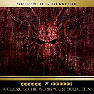 10 Classic Gothic Works You Should Listen                   Written by:                                                                                                                                 H. P. Lovecraft,                                                                                        Henry James,                                                                                        Joris-Karl Huysmans,                   and others                          Narrated by:                                                                                                                                 Brian Kelly,                                                                                        Sean Murphy,                                                                                        Steven Smith,                   and others                 Length: 62 hrs and 52 mins     Not rated yet     Overall 0.0