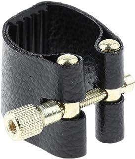 Saxo tenor Sharplace Boquilla de Saxof/ón Tenor Alto Soprano Ligadura Accesorios para Instrumentos