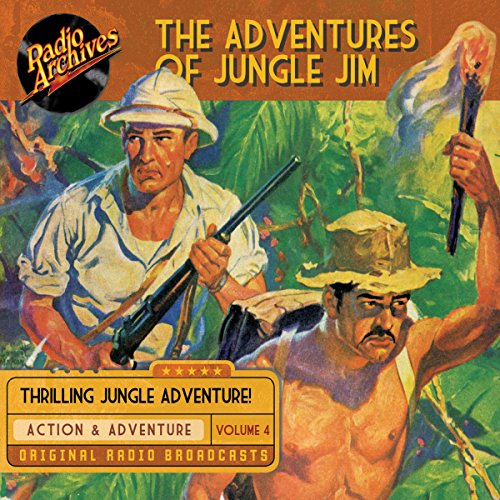 The Adventures of Jungle Jim, Volume 4 cover art