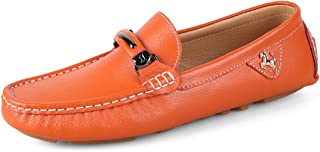 Miyoopark Boy's Men's Bows Stitched Slip-on Classic Spring/Summer Loafers