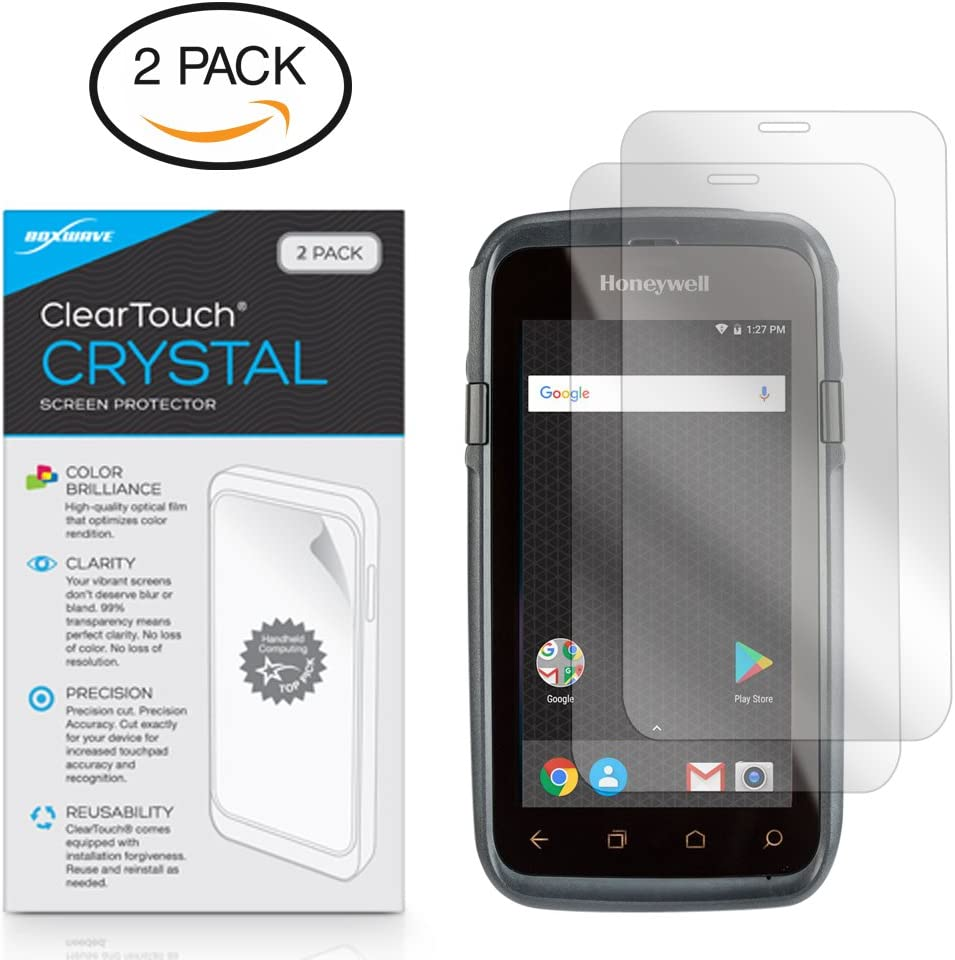 ClearTouch Anti-Glare Anti-Fingerprint Matte Film Skin for Honeywell Dolphin CT60 Honeywell Dolphin CT60 Screen Protector BoxWave/® 2-Pack