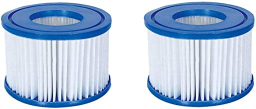 Bestway 58477E SaluSpa Antimicrobial Antibacterial Type VI Filter Cartridges