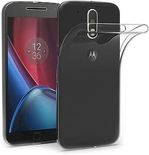 AICEK Coque Moto G4 / G4 Plus, Etui Silicone Gel Moto G4 Housse Antichoc Motorola Moto G4 Plus Transparente Souple Coque de Protection pour Moto G4 / G4 Plus(5.5 Pouces)