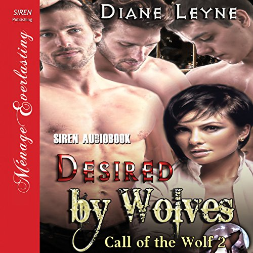 Desired by Wolves audiobook cover art