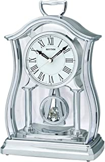 Rhythm CRP611WR19 Fancy Mantel Desk Clock