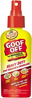 Goof Off FG728 Heavy Duty Spot Remover and Degreaser Pump Spray, 8-Ounce