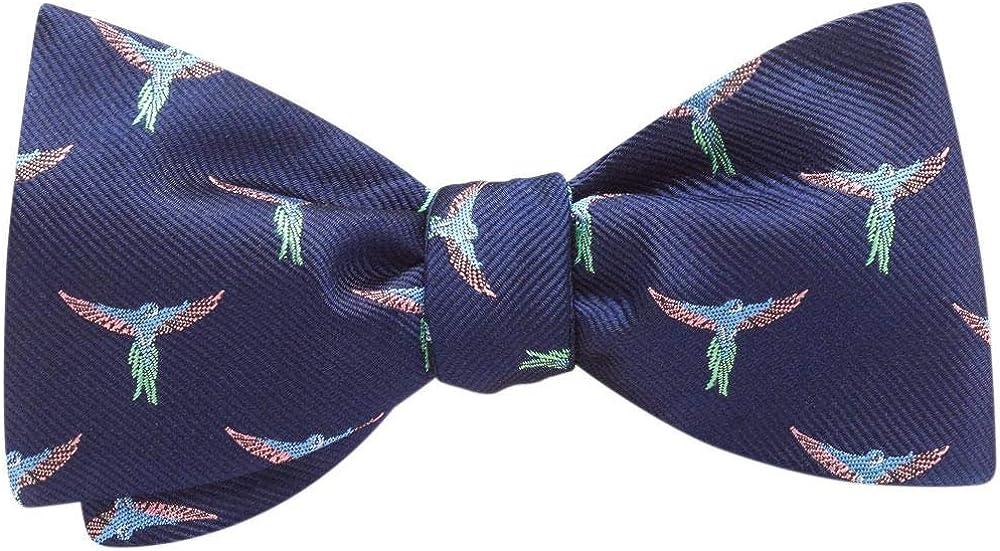 Flightford Blue Conversationals, Men's Bow Tie, Handmade in the USA