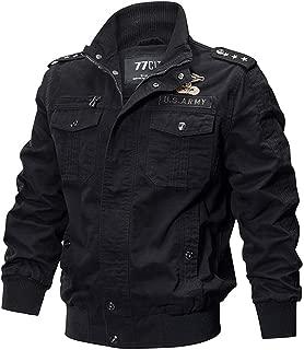 Military Jacket Men Cotton Pilot Jacket Coat Army Men's Bomber Jackets Cargo Flight Jacket Male 6XL